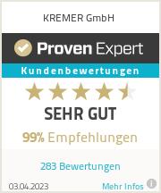 Erfahrungen & Bewertungen zu Kremer GmbH