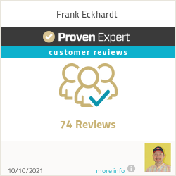 Ratings & reviews for Frank Eckhardt