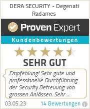 Erfahrungen & Bewertungen zu DERA SECURITY - Degenati Radames