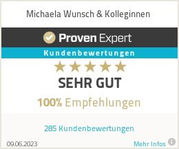 Erfahrungen & Bewertungen zu Michaela Wunsch & Kolleginnen