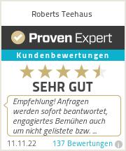 Erfahrungen & Bewertungen zu Roberts Teehaus