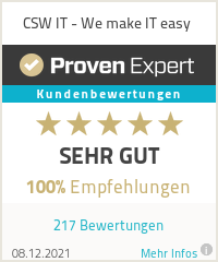 Erfahrungen & Bewertungen zu CSW IT - We make IT easy