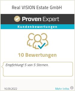 Erfahrungen & Bewertungen zu Real VISION Estate GmbH
