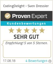 Erfahrungen & Bewertungen zu CodingDelight - Sven Dressler