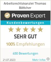 Erfahrungen & Bewertungen zu Arbeitsrechtskanzlei Thomas Böttcher