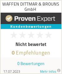 Erfahrungen & Bewertungen zu WAFFEN DITTMAR & BROUNS GmbH