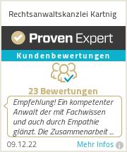 Erfahrungen & Bewertungen zu Rechtsanwaltskanzlei Kartnig