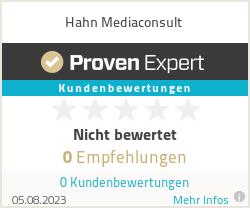 Erfahrungen & Bewertungen zu Hahn Mediaconsult