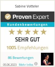 Erfahrungen & Bewertungen zu Sabine Votteler