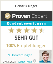 Erfahrungen & Bewertungen zu Hendrik Unger