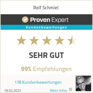 Erfahrungen & Bewertungen zu Rolf Schmiel