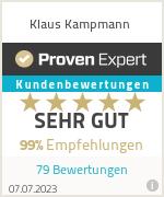 Erfahrungen & Bewertungen zu Klaus Kampmann