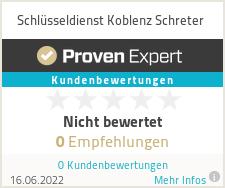 Erfahrungen & Bewertungen zu Schlüsseldienst Koblenz Schreter
