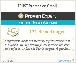 Erfahrungen & Bewertungen zu TRUST Promotion GmbH