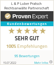 Erfahrungen & Bewertungen zu L & P Luber Pratsch Rechtsanwälte Partnerschaft