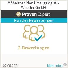 Erfahrungen & Bewertungen zu Möbelspedition Umzugslogistik Wussler GmbH