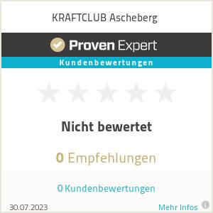 Erfahrungen & Bewertungen zu KRAFTCLUB Ascheberg