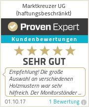 Erfahrungen & Bewertungen zu Marktkreuzer UG (haftungsbeschränkt)