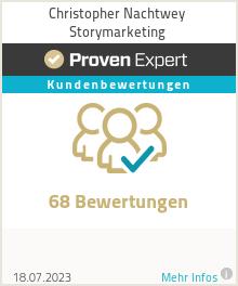 Erfahrungen & Bewertungen zu Christopher Nachtwey Storymarketing
