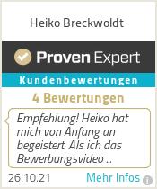 Erfahrungen & Bewertungen zu Heiko Breckwoldt