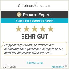 Erfahrungen & Bewertungen zu Autohaus Schouren
