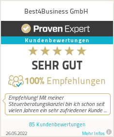 Erfahrungen & Bewertungen zu Best4Business GmbH