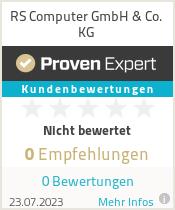Erfahrungen & Bewertungen zu RS Computer GmbH & Co. KG