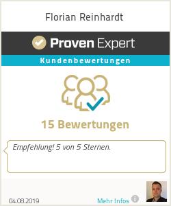 Erfahrungen & Bewertungen zu Florian Reinhardt