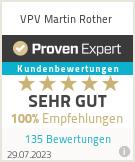 Erfahrungen & Bewertungen zu VPV Martin Rother