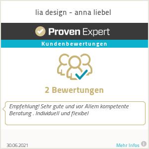 Erfahrungen & Bewertungen zu lia design - anna liebel