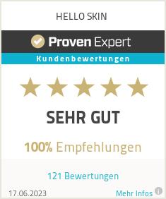 Erfahrungen & Bewertungen zu HELLO SKIN