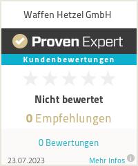 Erfahrungen & Bewertungen zu Waffen Hetzel GmbH