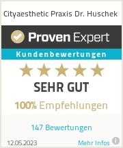 Erfahrungen & Bewertungen zu Cityaesthetic Praxis Dr. Huschek