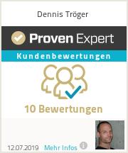 Erfahrungen & Bewertungen zu Dennis Tröger