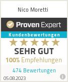 Erfahrungen & Bewertungen zu Nico Moretti