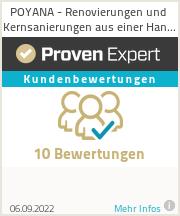 Erfahrungen & Bewertungen zu POYANA Immobilienaufwertung UG | Renovierung, Modernisierung & Sanierung