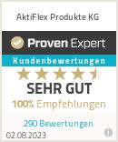 Erfahrungen & Bewertungen zu AktiFlex Produkte KG