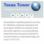 Texas Tower Passport & Visa Services