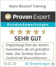 Erfahrungen & Bewertungen zu Mario Büsdorf Training