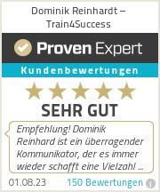 Erfahrungen & Bewertungen zu Dominik Reinhardt – Train4Success