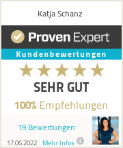 Erfahrungen & Bewertungen zu Katja Schanz
