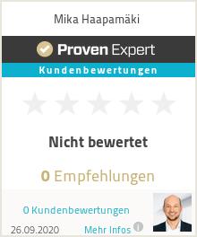 Erfahrungen & Bewertungen zu Mika Haapamäki