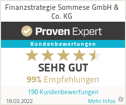 Erfahrungen & Bewertungen zu Finanzstrategie Sommese GmbH & Co. KG