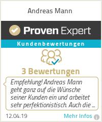 Erfahrungen & Bewertungen zu Andreas Mann