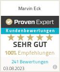 Erfahrungen & Bewertungen zu Marvin Eck