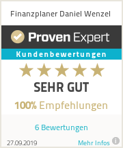Erfahrungen & Bewertungen zu Finanzplaner Daniel Wenzel