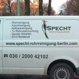 Specht Rohrreinigung Berlin - Klempner & Sanitär Notdienst