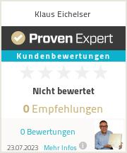 Erfahrungen & Bewertungen zu Klaus Eichelser