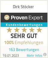 Erfahrungen & Bewertungen zu Dirk Stöcker