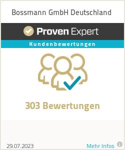 Erfahrungen & Bewertungen zu Bossmann GmbH Deutschland